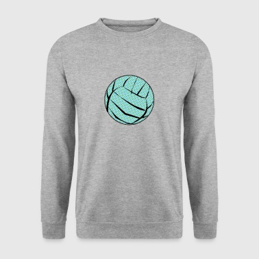 volleyball sports player player game waterball33 - Men's Sweatshirt