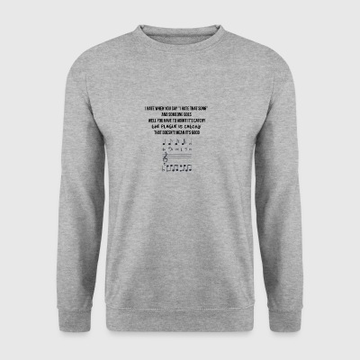 La peste est accrocheur - Sweat-shirt Homme