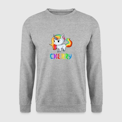 licorne cerise - Sweat-shirt Homme