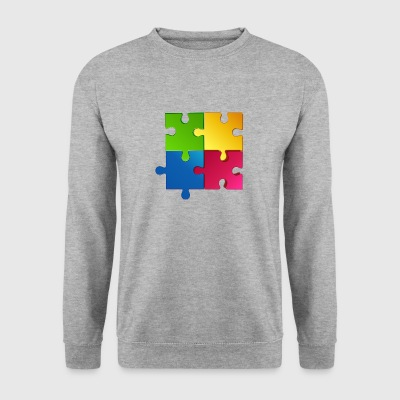 puzzle - Sweat-shirt Homme