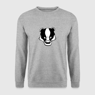 Angry Badger - Sweat-shirt Homme