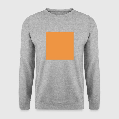 Orange Square - Herre sweater