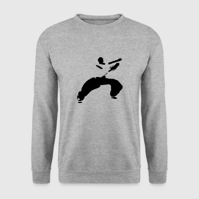 kung fu - Sweat-shirt Homme