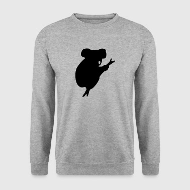 Silhouette Koala - Sweat-shirt Homme