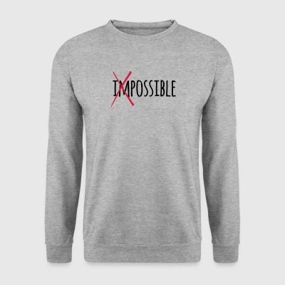 Impossible Possible 2c - Männer Pullover