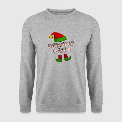 Neighbor, neighbor, village kid, Christmas gift - Men's Sweatshirt