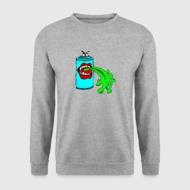 The puking spray can graffiti sprayer - Men's Sweatshirt