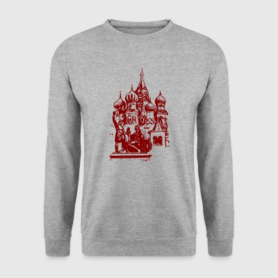 Russian church - Men's Sweatshirt