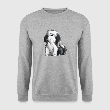 Je Suis Bearded Collie - gris - Sweat-shirt Homme