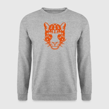 panthere animal sauvage animaux 1102 - Sweat-shirt Homme