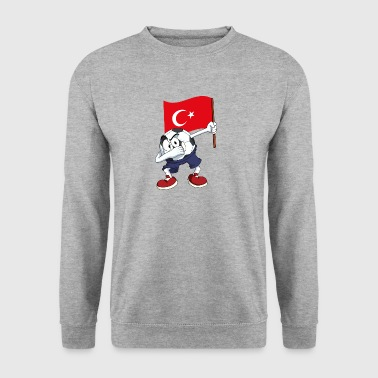 Turkey Dabbing football - Men's Sweatshirt