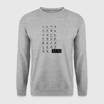 braille blak - Men's Sweatshirt