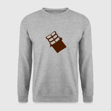 tablette chocolat 704 - Sweat-shirt Homme
