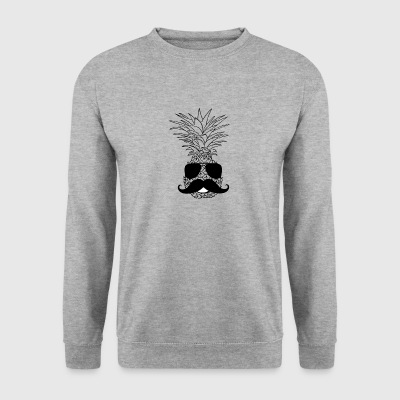 TRENDY PINEAPPLE STYLE PINEAPPLE WITH BEARD VEGAN - Men's Sweatshirt