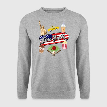 I love New York - Men's Sweatshirt