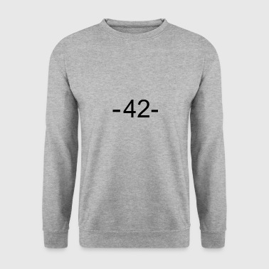 42 - meaning of life - Men's Sweatshirt