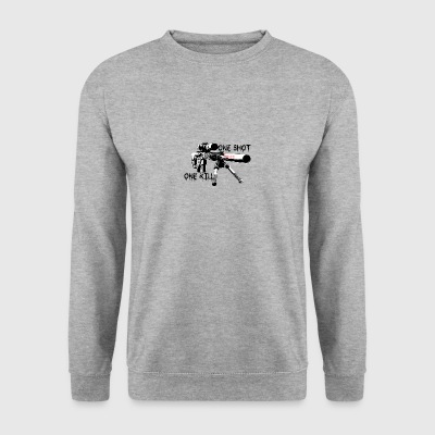 Sniper a tiré un un KILL - Sweat-shirt Homme