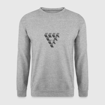 illusion d'optique - Sweat-shirt Homme