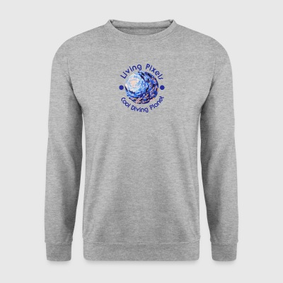 Living pixel Cool Planet Diving, Diving - Mannen sweater