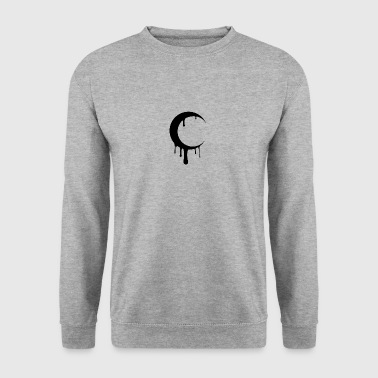 Blurry Moon - Men's Sweatshirt