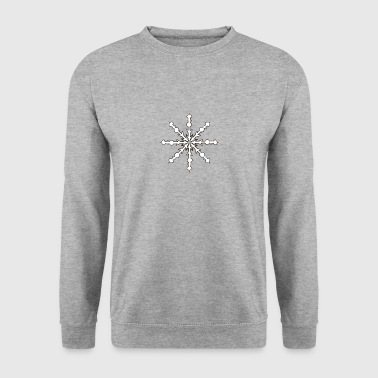 snowflake 2 - Men's Sweatshirt