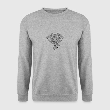 ELEPHANT HEAD - Men's Sweatshirt