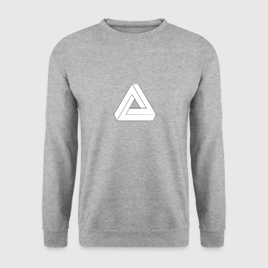 Penisetriangle wite - Men's Sweatshirt