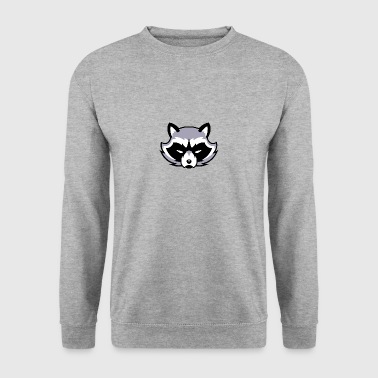 Raccoon grå / vaskebjørn - Herre sweater