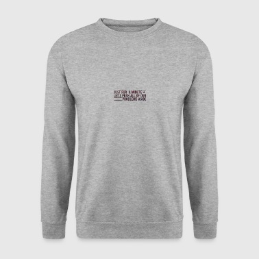 Juste une minute - Sweat-shirt Homme