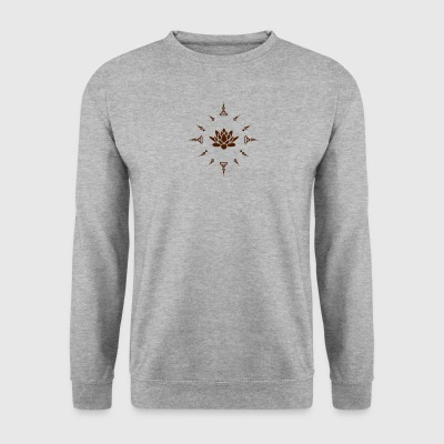 lotus - Mannen sweater