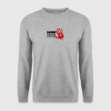 Zombie: Zombie Apocalypse Running Team - Men's Sweatshirt