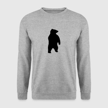 Bear Silhouette - Men's Sweatshirt