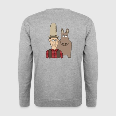 Cowboy - Men's Sweatshirt
