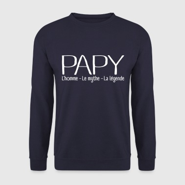 Papy Légende - Sweat-shirt Homme