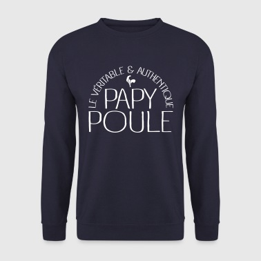 Papy Poule - Sweat-shirt Homme