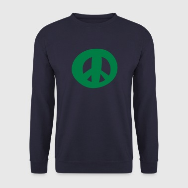 Peace sign - Symbol of Peace - Men's Sweatshirt