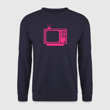 tv tele television ecran emission - Sweat-shirt Homme