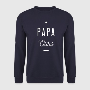 PAPA OURS - Sweat-shirt Homme