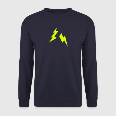 Lightning bolt icon 2905 - Men's Sweatshirt