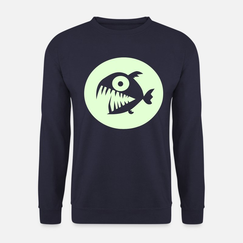 Piranha Hoodies & Sweatshirts - Piranha - Men's Sweatshirt navy
