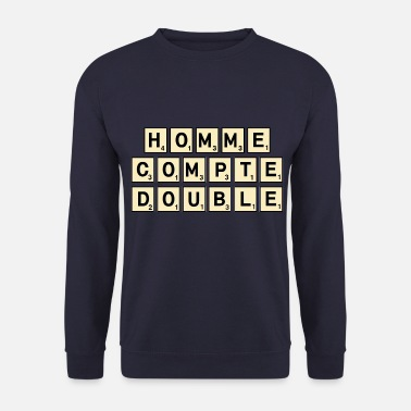Scrabble SCRABBLE HOMME - Sweat-shirt Homme