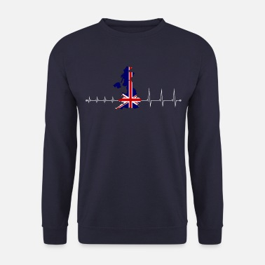 Uk Heartbeat UK - I love UK - Herre sweater