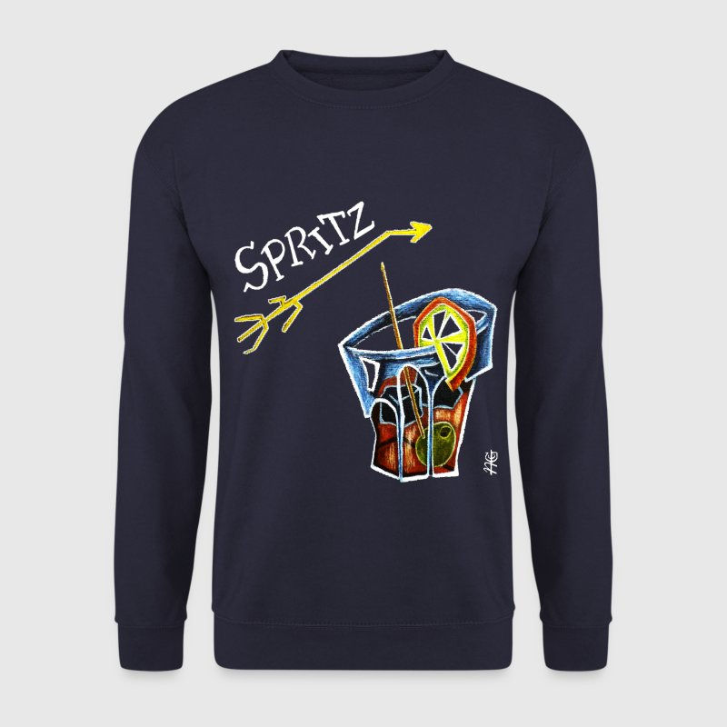 Spritz Aperol Party T-shirts Venice Italy - Energy Drink - Men's Sweatshirt