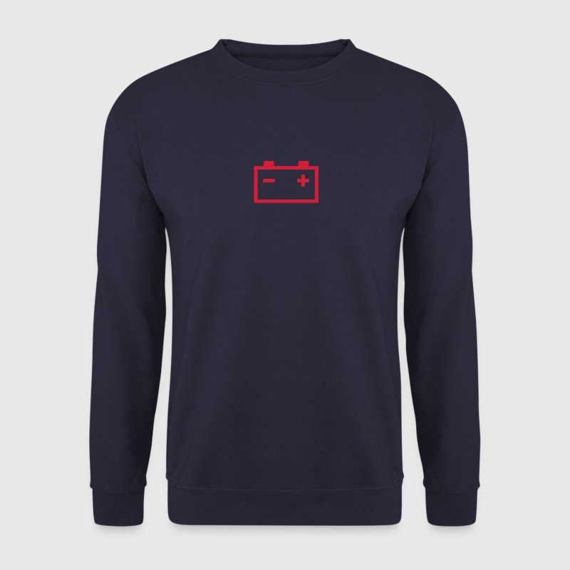 logo batterie voiture 25 - Sweat-shirt Homme
