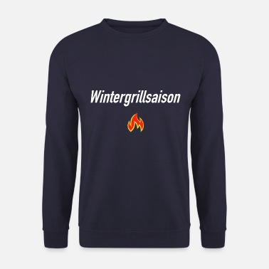 Winter barbecue seizoen I Winter barbecue I Winter barbecue - Mannen sweater