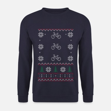 Ugly Christmas Ugly Xmas Sweaters Cycle - Männer Pullover