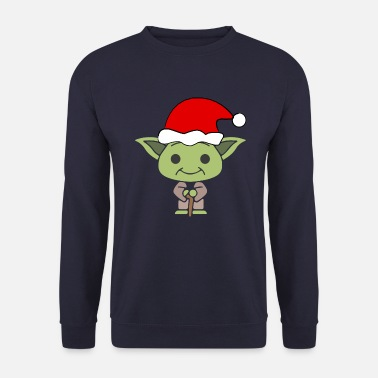 Yoda Yoda Noël - Sweat-shirt Homme