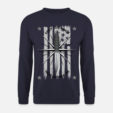 Navy US Navy - Sweat-shirt Homme