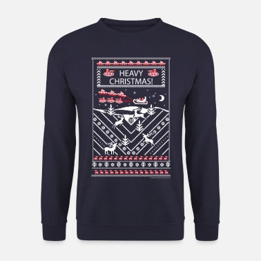 Moches De Noël World Of Tanks Heavy Christmas Noël - Sweat-shirt Homme