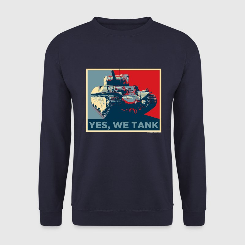 World of Tanks - Yes, we tank - Sweat-shirt Homme